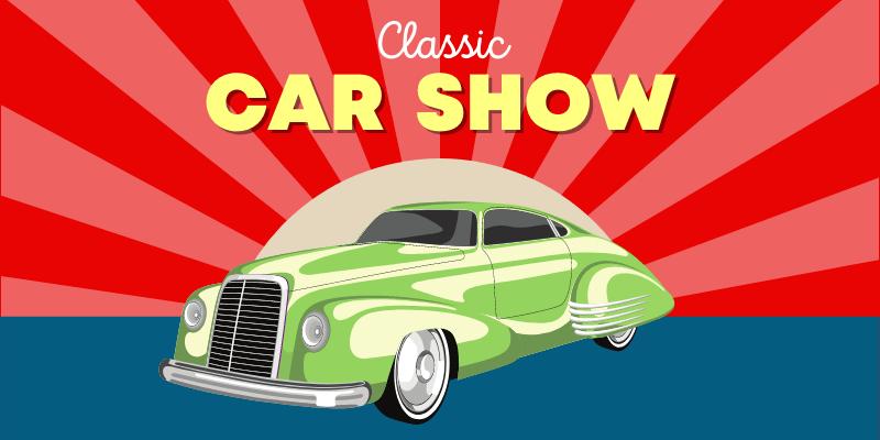 Classic car show at the JetPort Restaurant.
