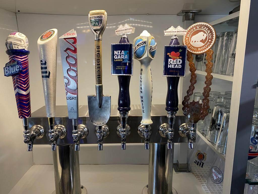 JetPort beer tap.