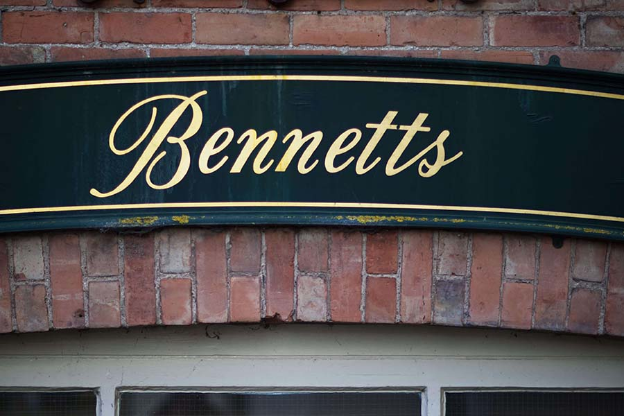 Bennetts in Ashbourne town