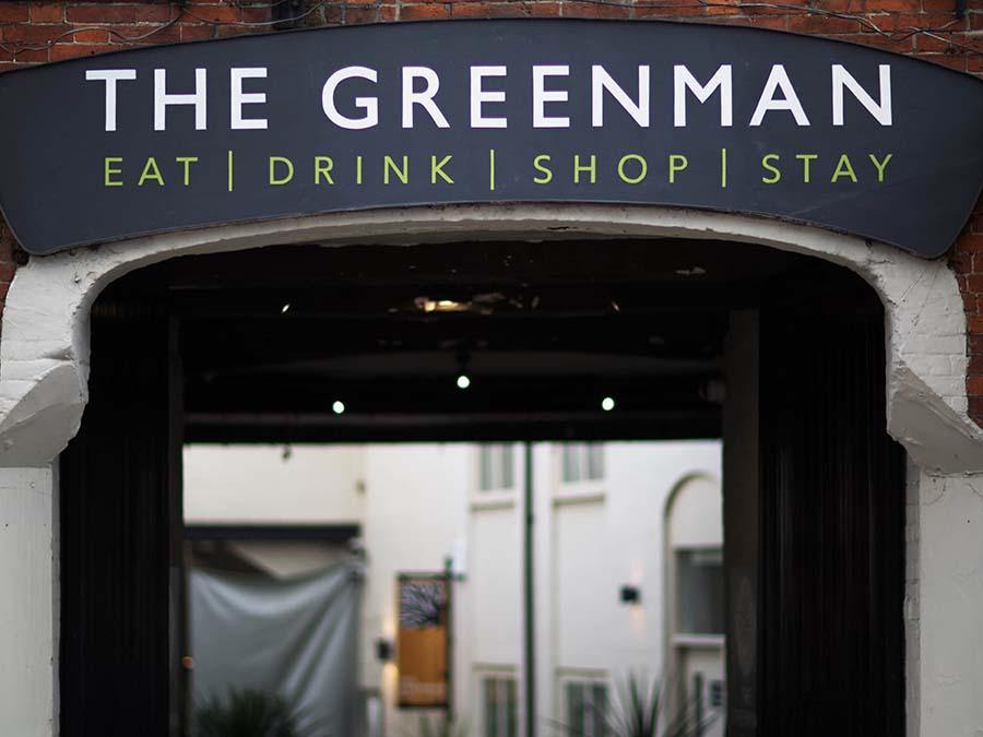 The Greeman restraunt in Ashbourne