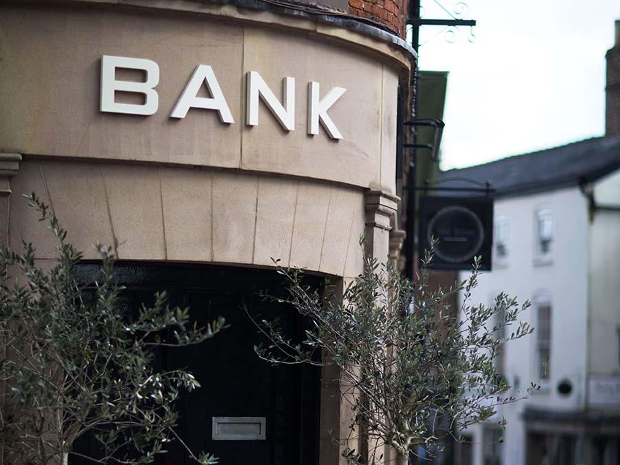 The Bank bar in Ashbourne