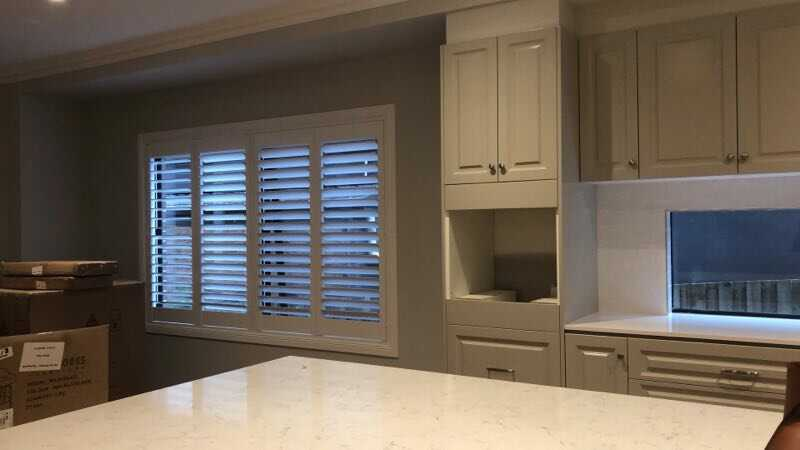 Client photo of window furnishings