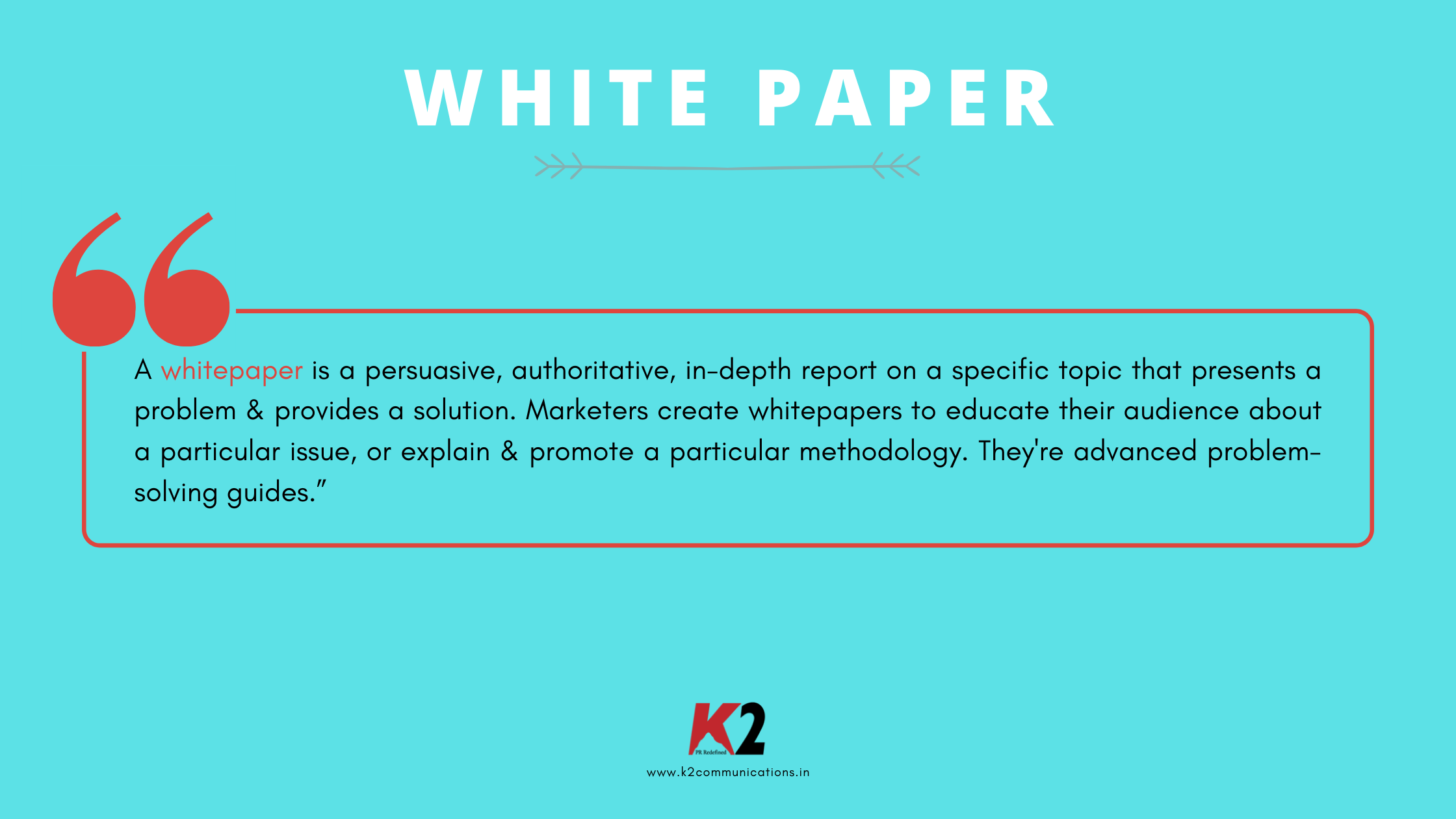 definition of white paper