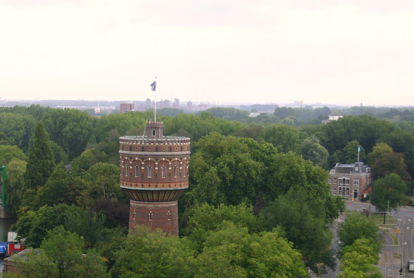 de Watertoren in het Groen