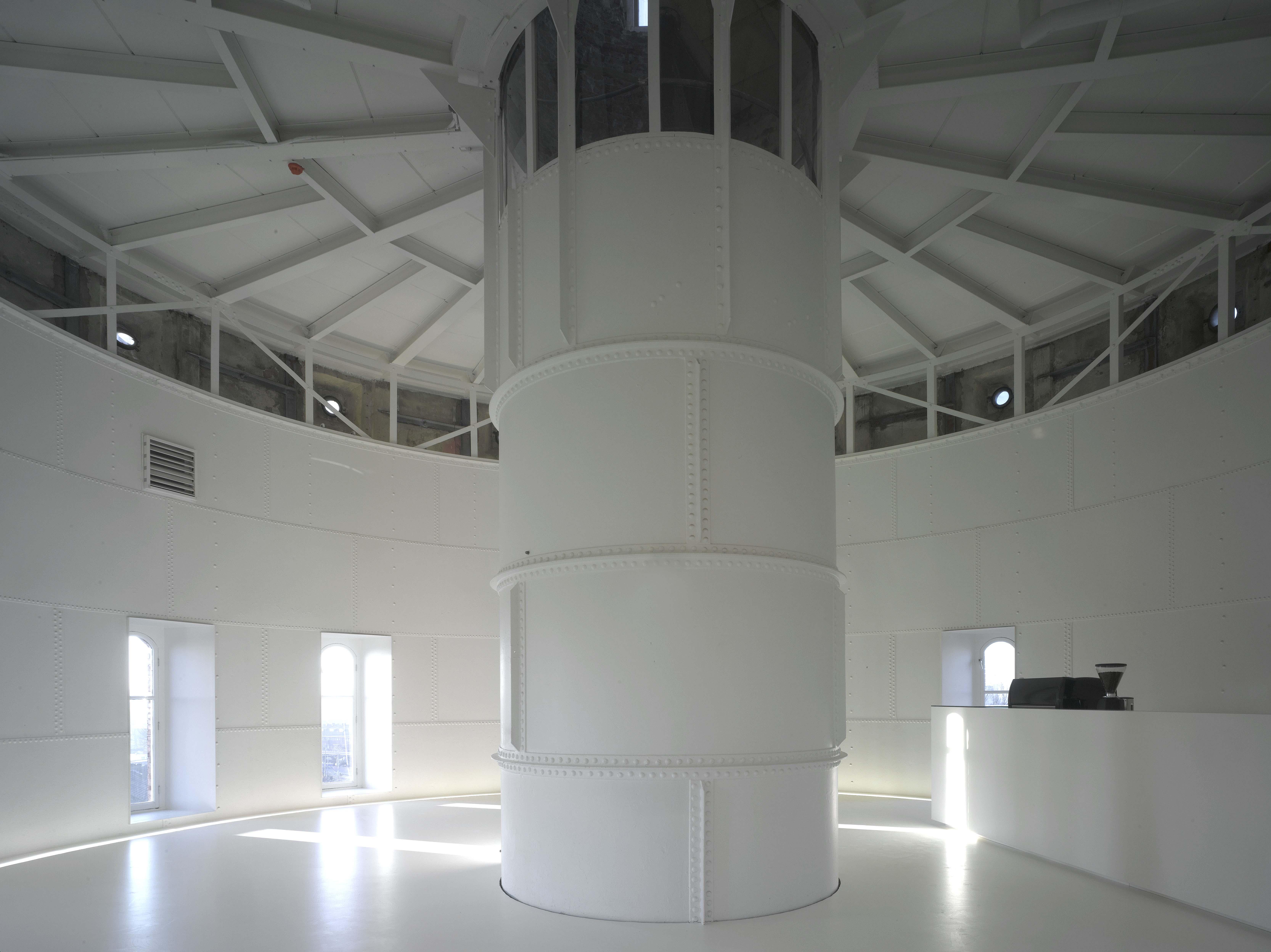 Het reservoir van de Watertoren