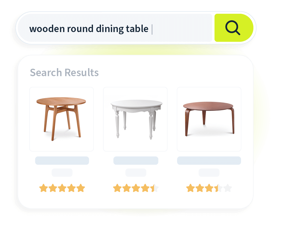 Unbound - Visual Product Suggestions