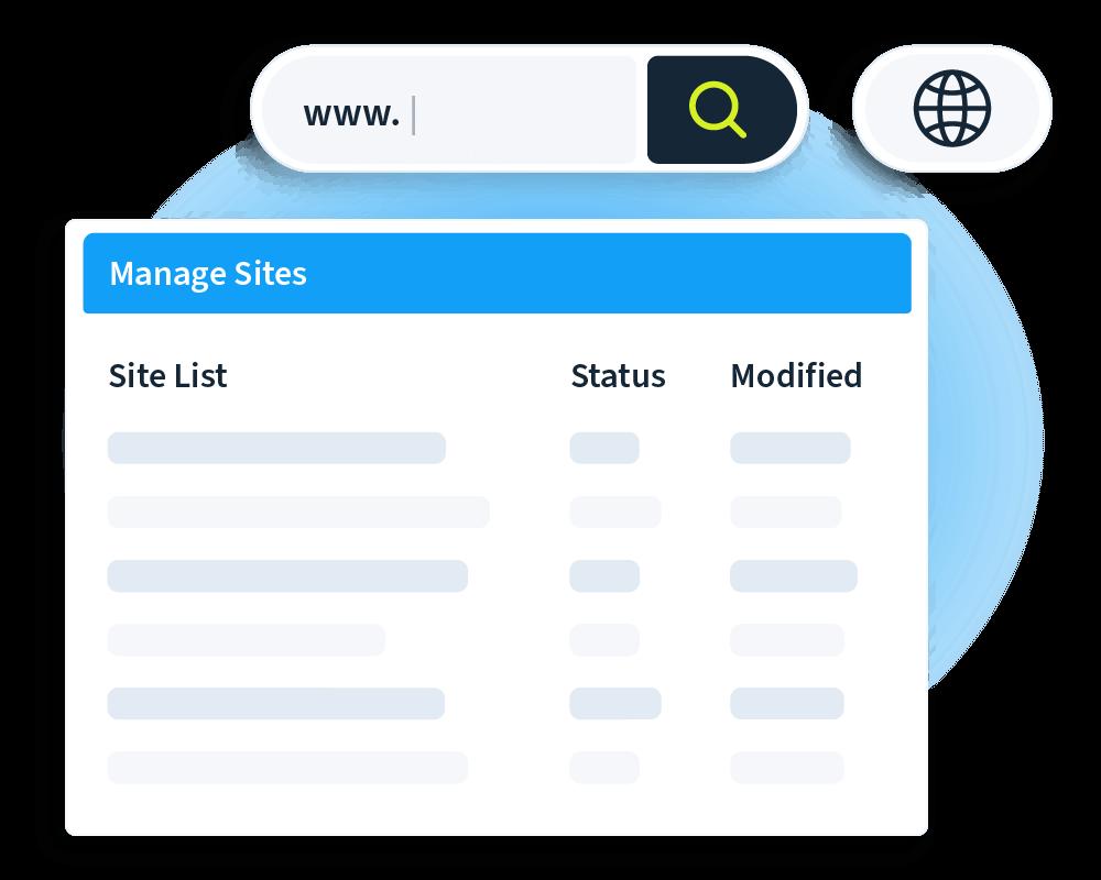 Unbound - Multi-site management