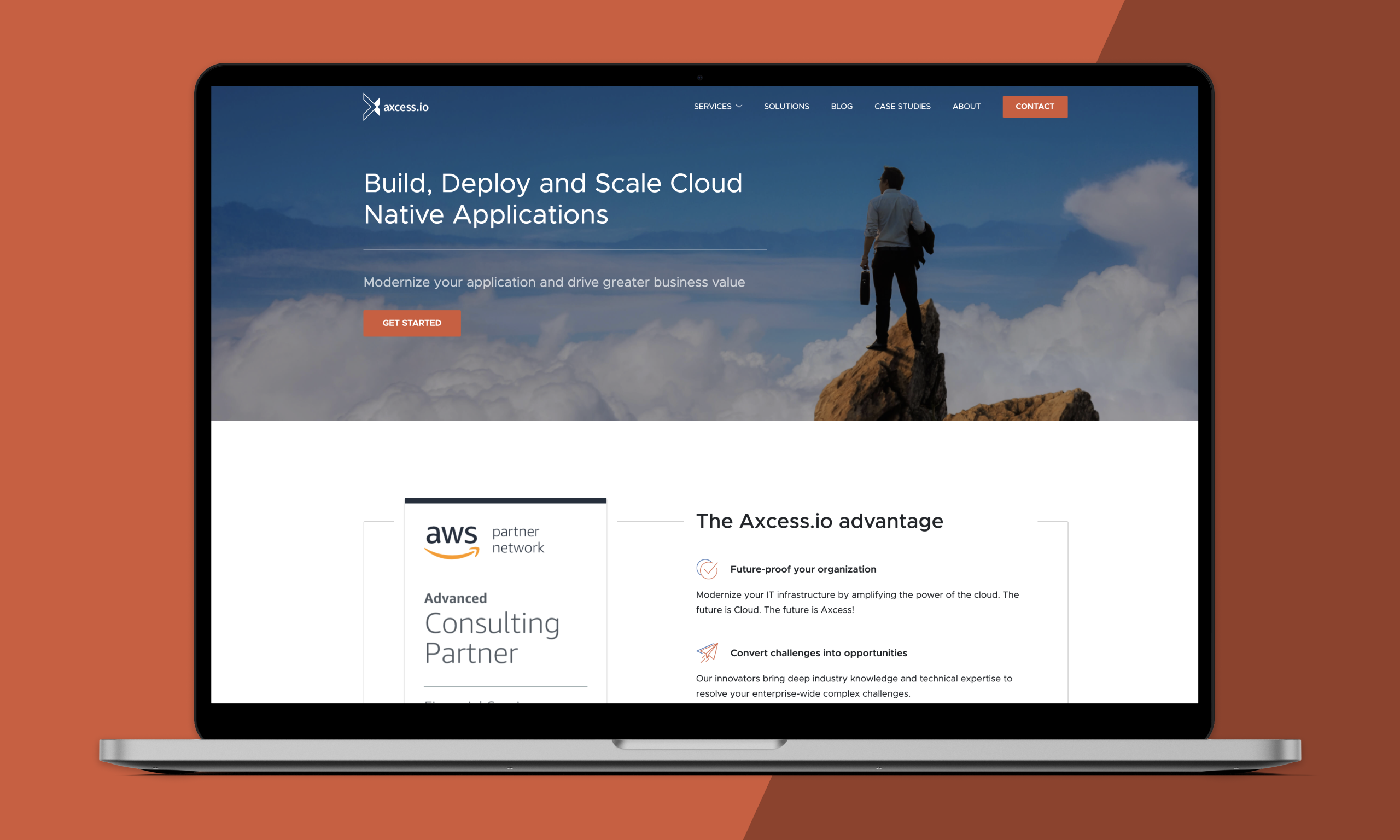 Axcess.io - Modernise your IT infrastructure by amplifying the power of the cloud