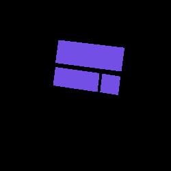 An open laptop