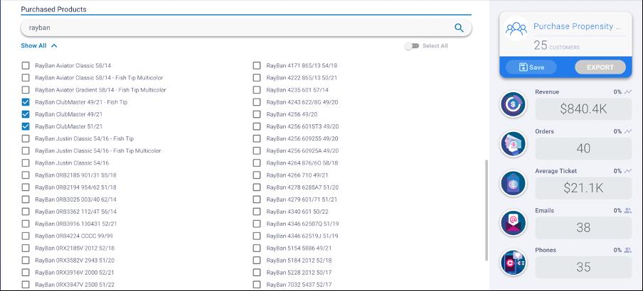 Audience creator module in Predictable Media Platform.