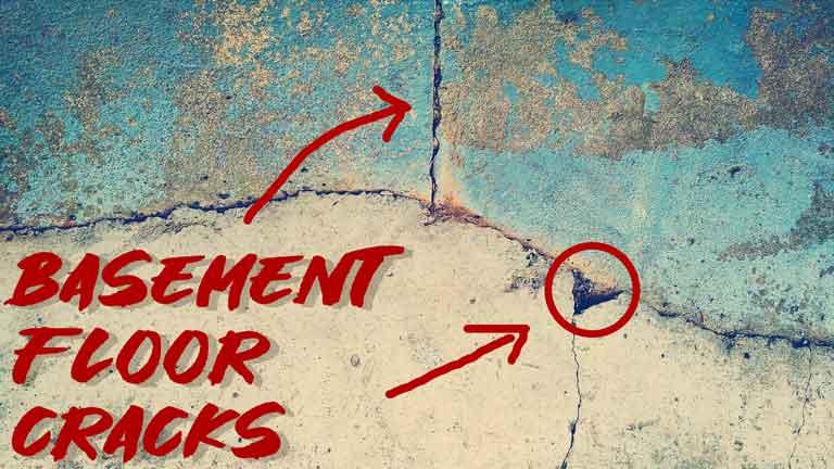 Basement Floor Cracks in Winter