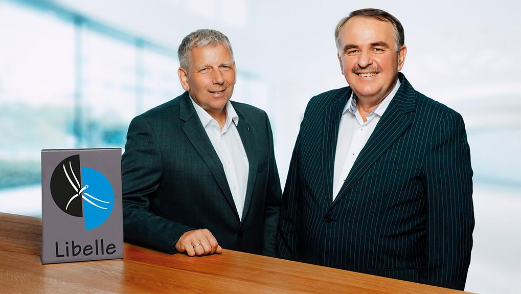 Management team of Libelle AG - left Hans-Joachim Krüger (CTO) and right Johann Vranic (CEO)