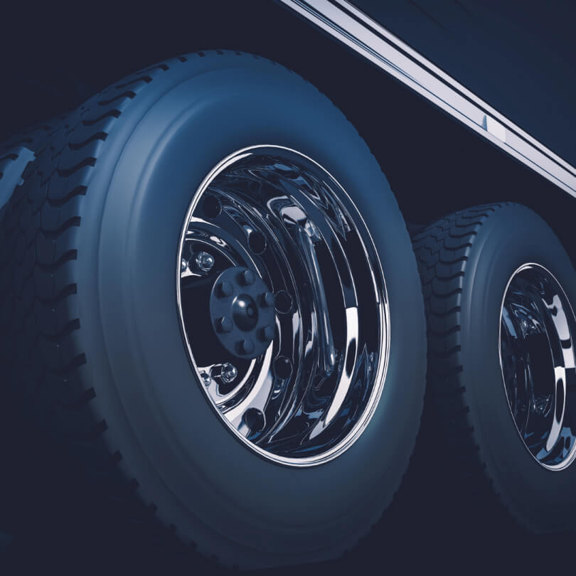 New Black Tire