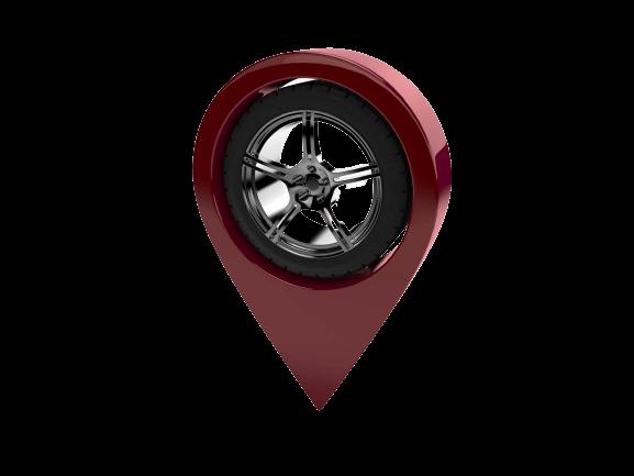 Auto delivery location marker