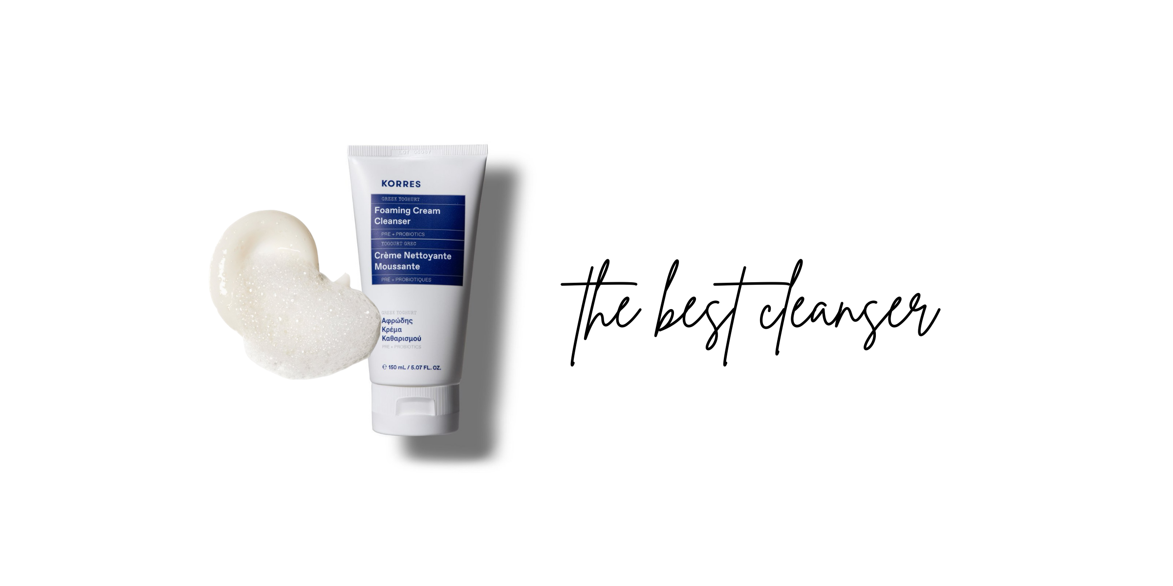 the best cleanser for your travel skincare kit from korres