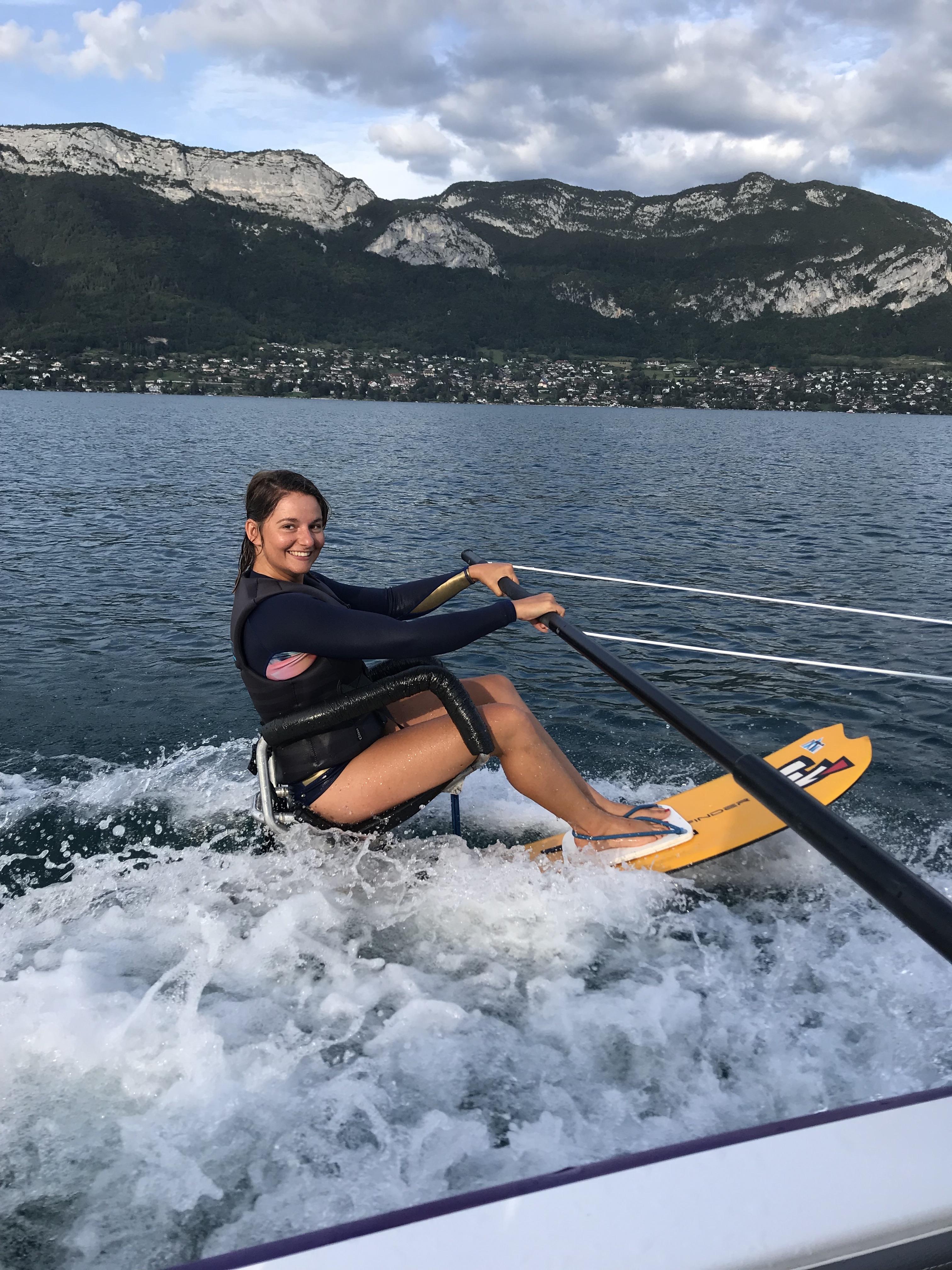 Ski Nautique Handi sur le Lac d'Annecy