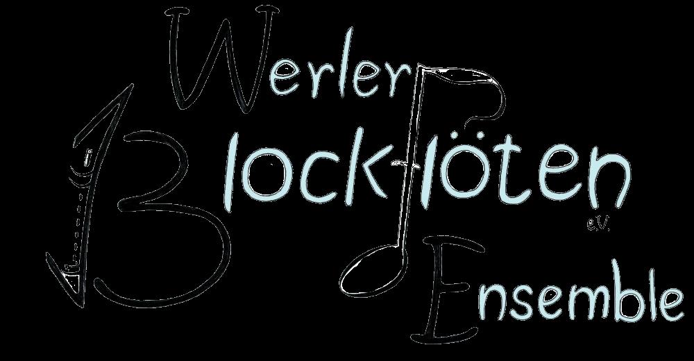 Das Logo des Werler Blockflöten Ensembles.