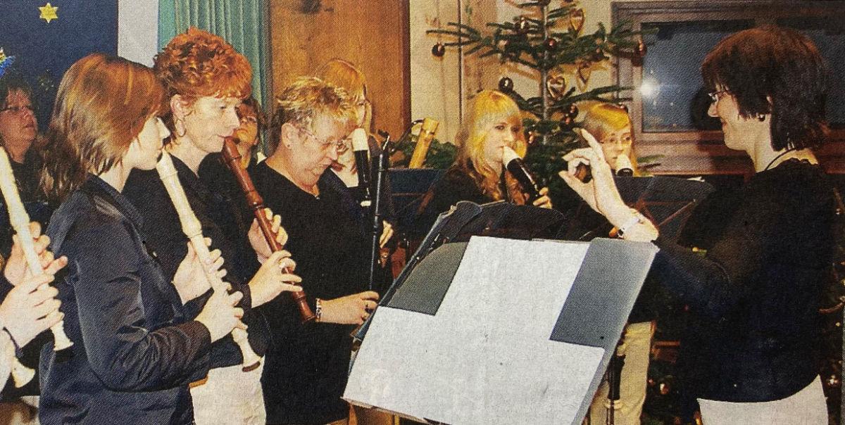 Das WBE spielt ein Konzert in der Wichern Werkstatt.