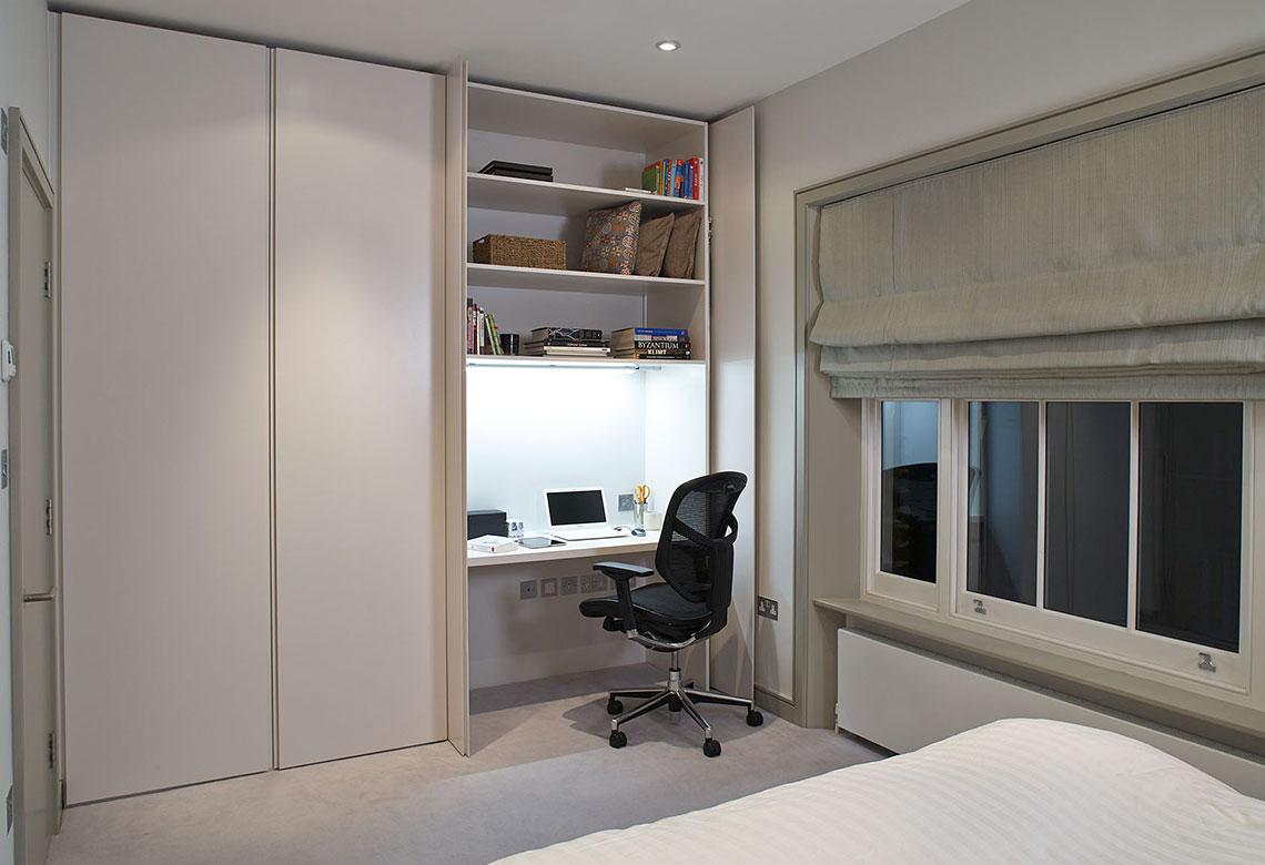 Shut-away office