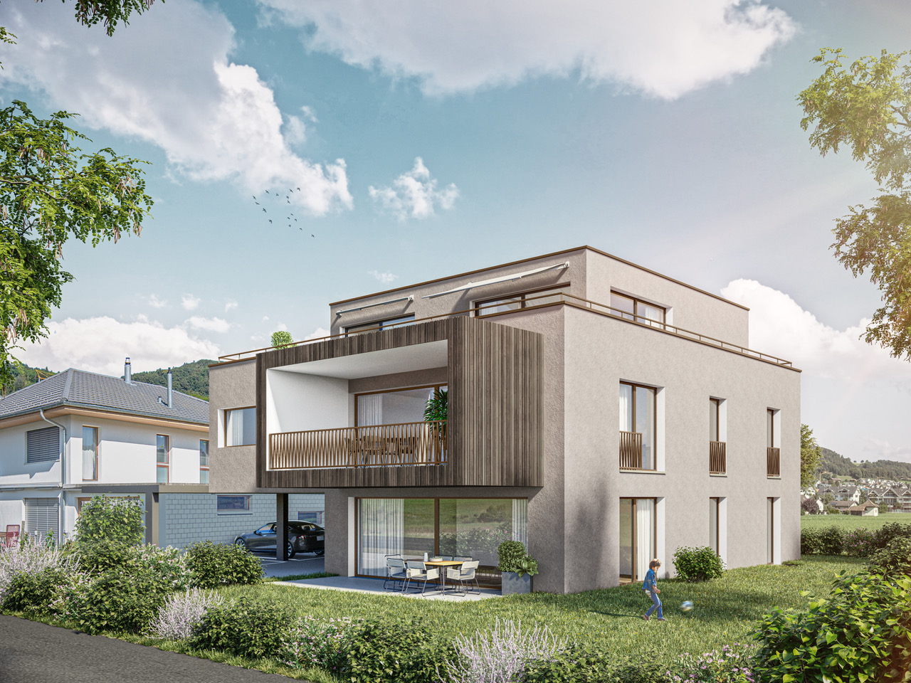 Neubauprojekt Toffen