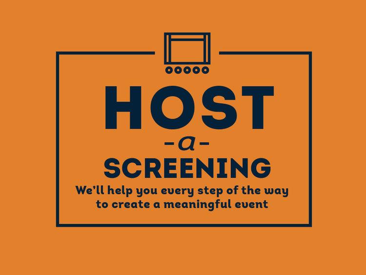 Host a Screening Button