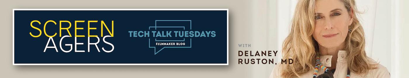 Tech Talk Tuesdays - Delaney writing her blog