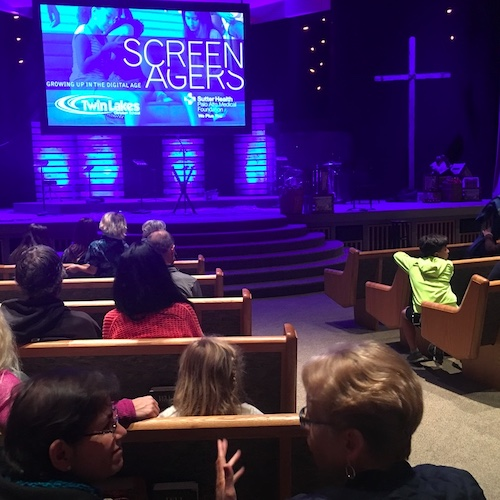 Screenagers Church Screening Event