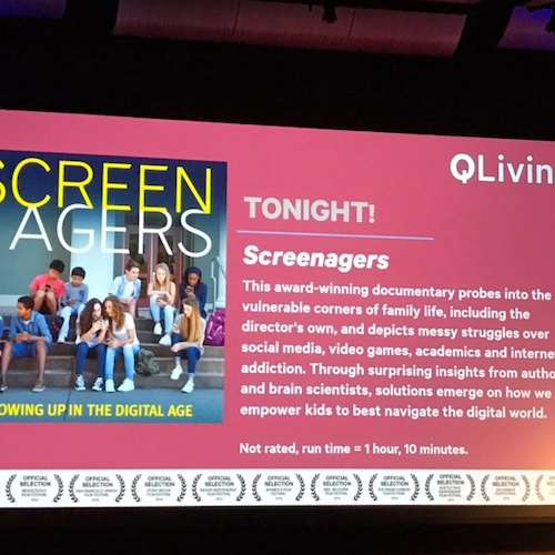 Screenagers Cinema Screening Event