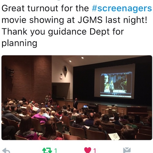 Screenagers School Screening Event
