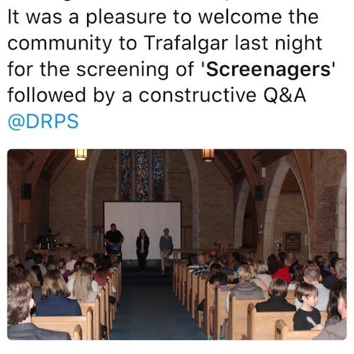 Screenagers Community Screening Event