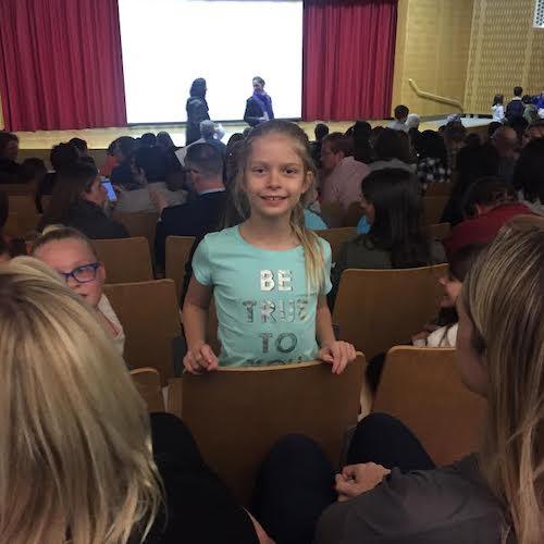 Child at Screenagers School Screening Event