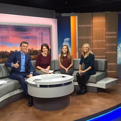 Screenagers team on Good Morning America