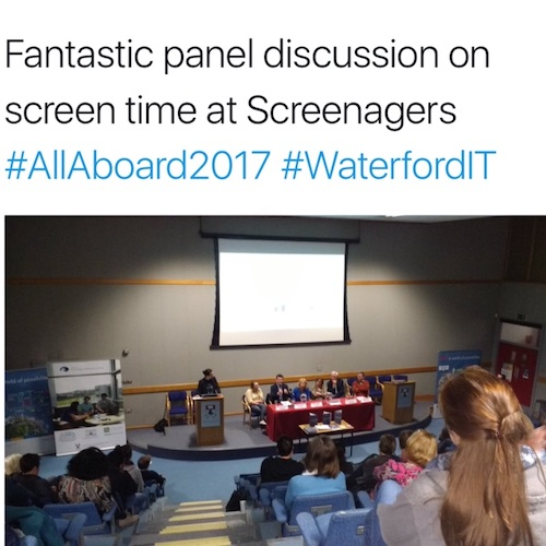 Screenagers Panel Discussion