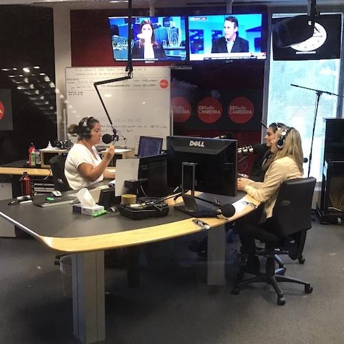 Delaney Ruston Screenagers Filmmaker being interviewed on radio