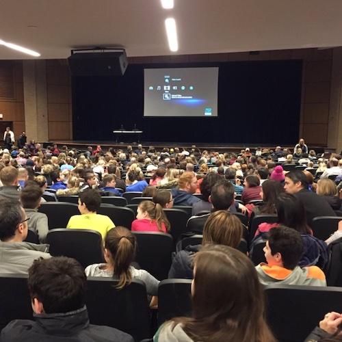 School screenagers screening