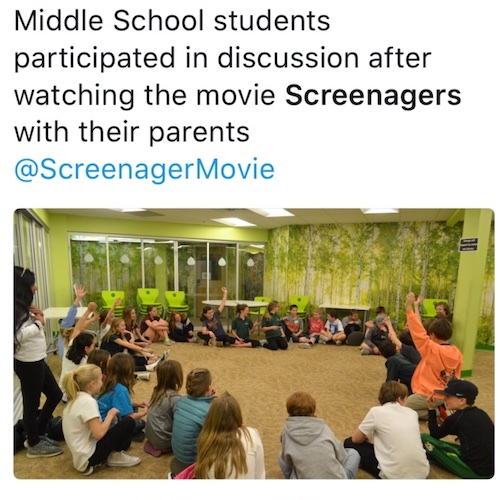 School screenagers event