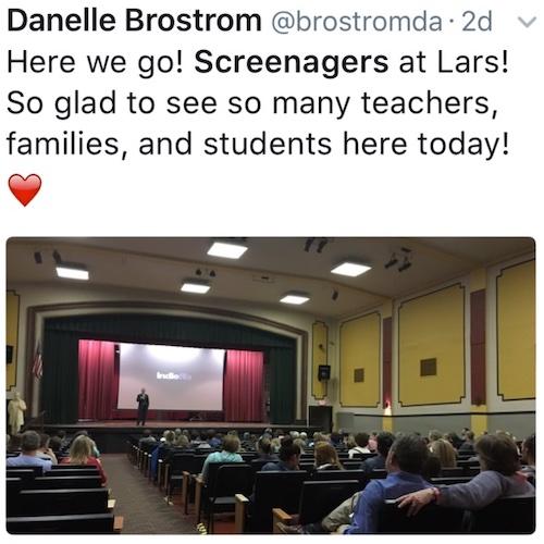 School Screenagers showing