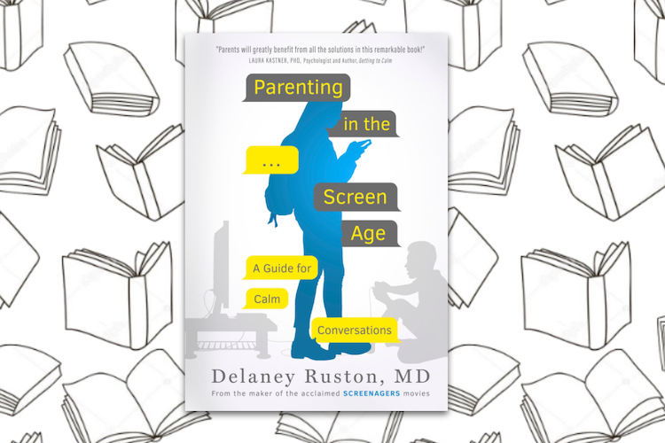 Parenting in the screen age front cover