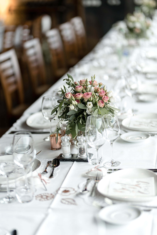 Hochzeit Speisesaal Dekoration einzeln