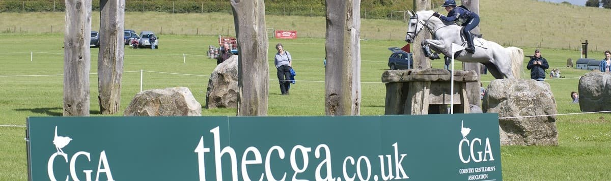 a horse riding event