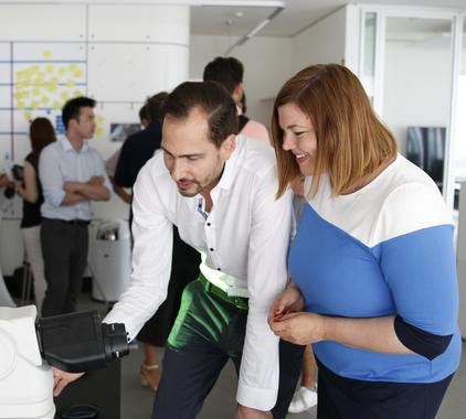 Mindpeak opens Health AI Hub Hamburg together with Second Mayor Fegebank