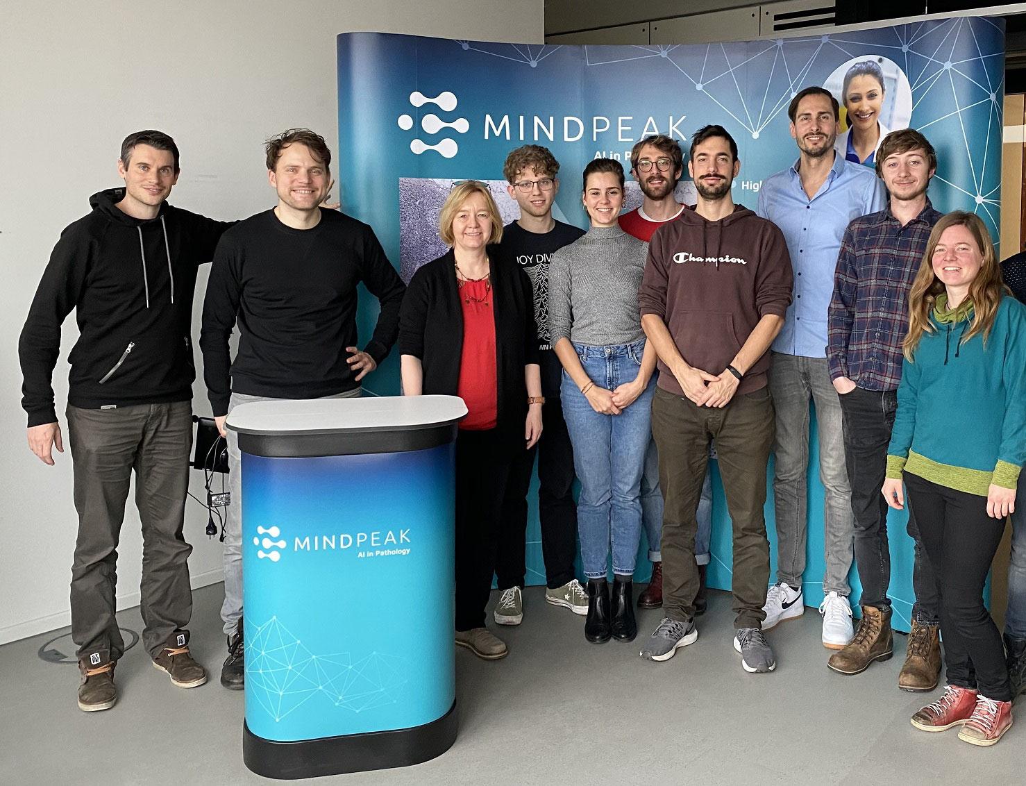 Mindpeak selected as one of the top 10 German Startups