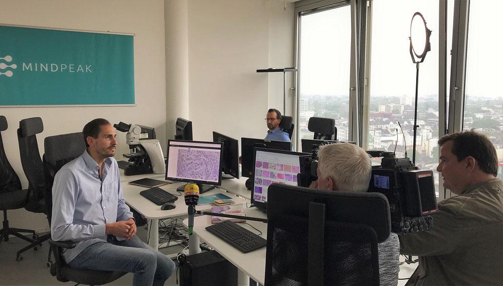 Mindpeak on German TV | RTL Nord Journal
