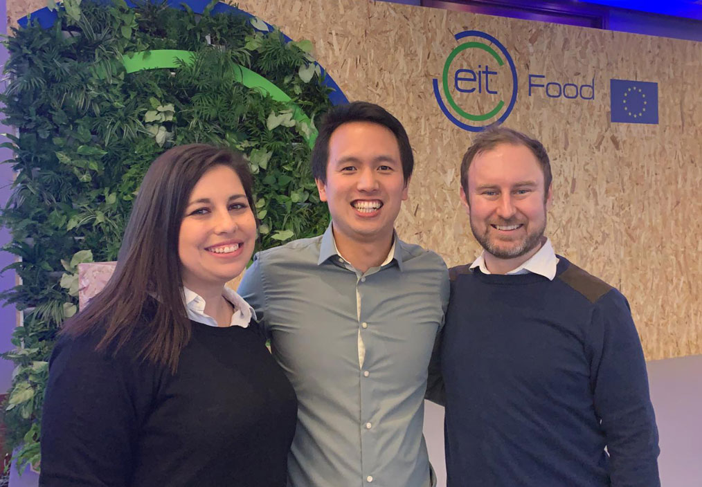 Ryan, Samantha and Laurie at an EIT event