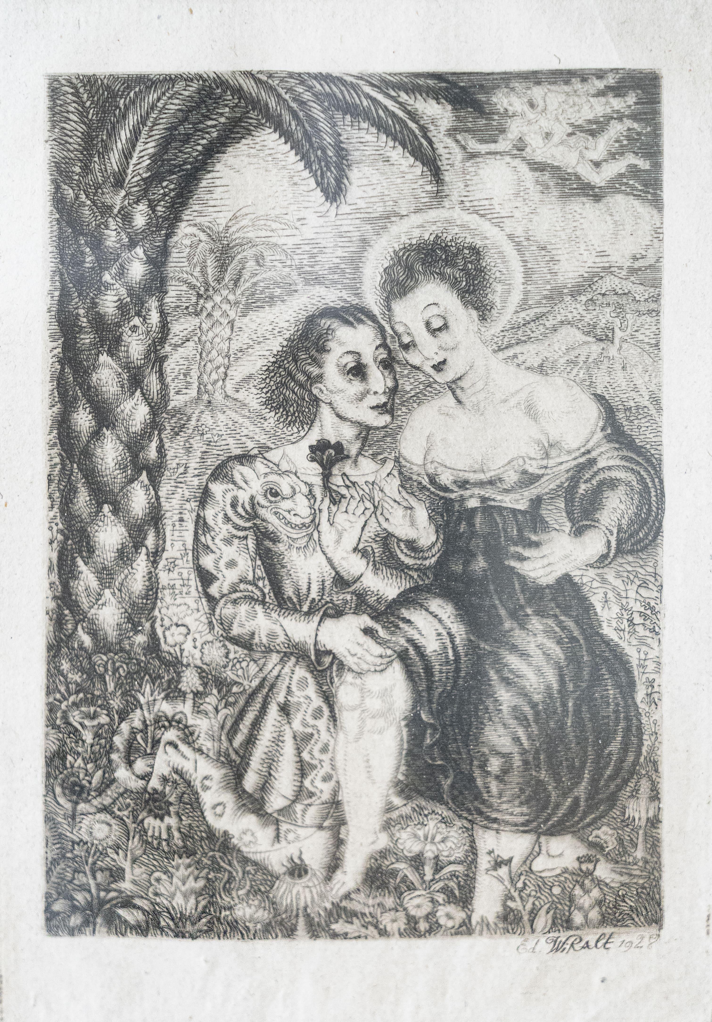 """Illustratsioonid A Puškini poeemile """"La Gabrielide"""""""