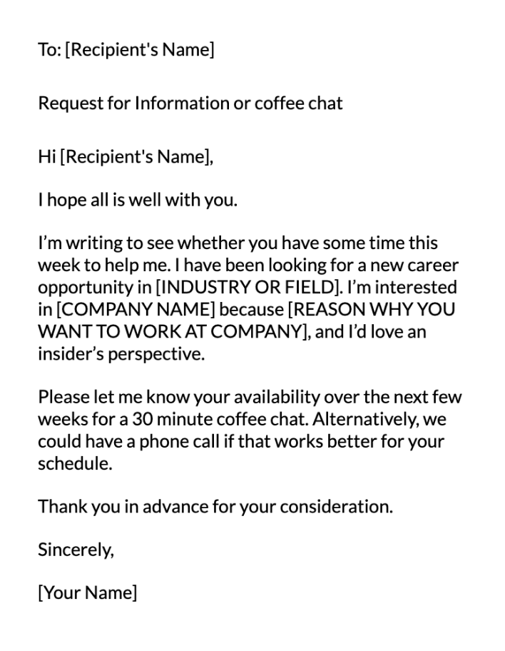 Company Specific Email Message Template