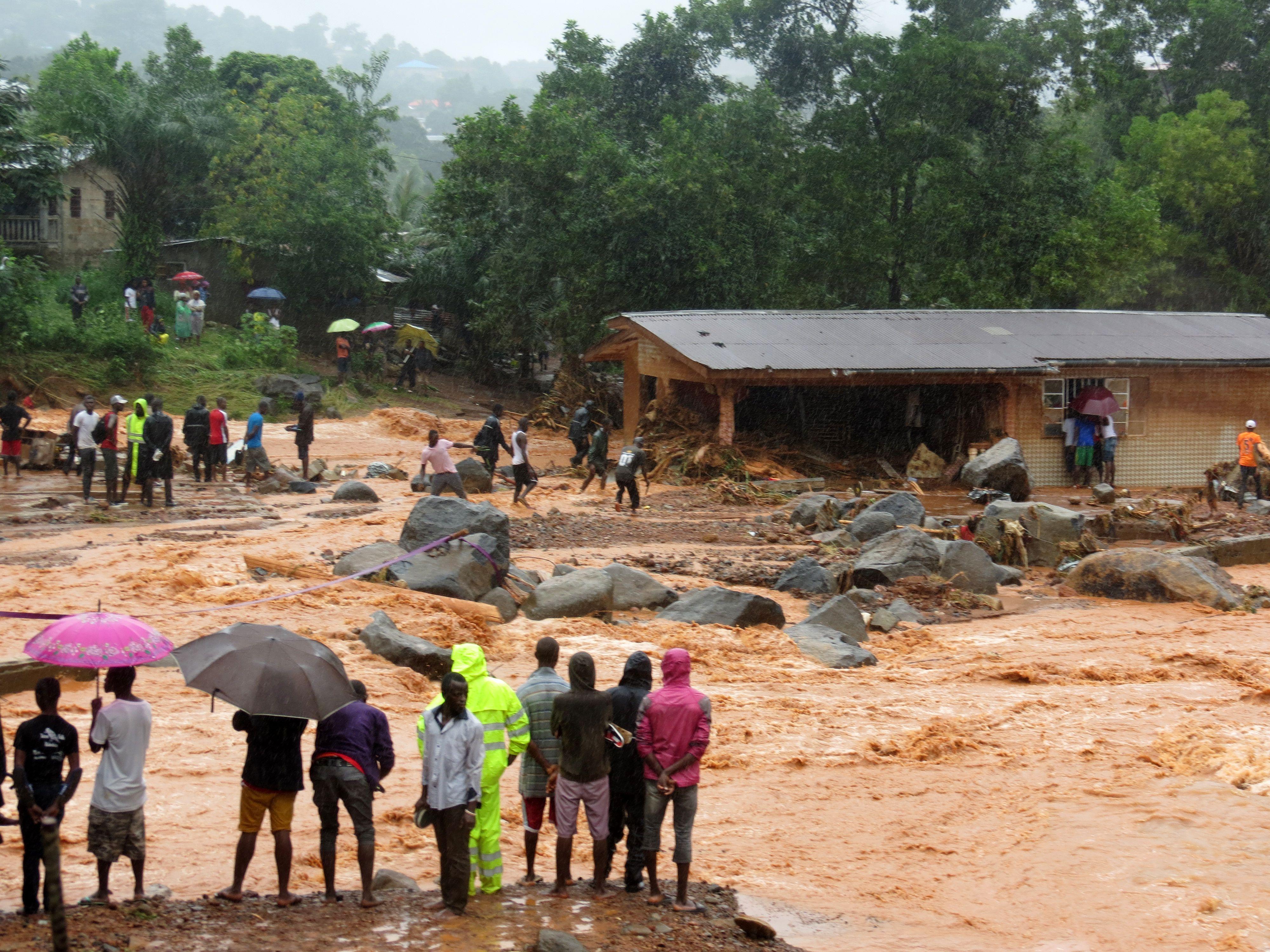 Sierra Leone Ebola floods