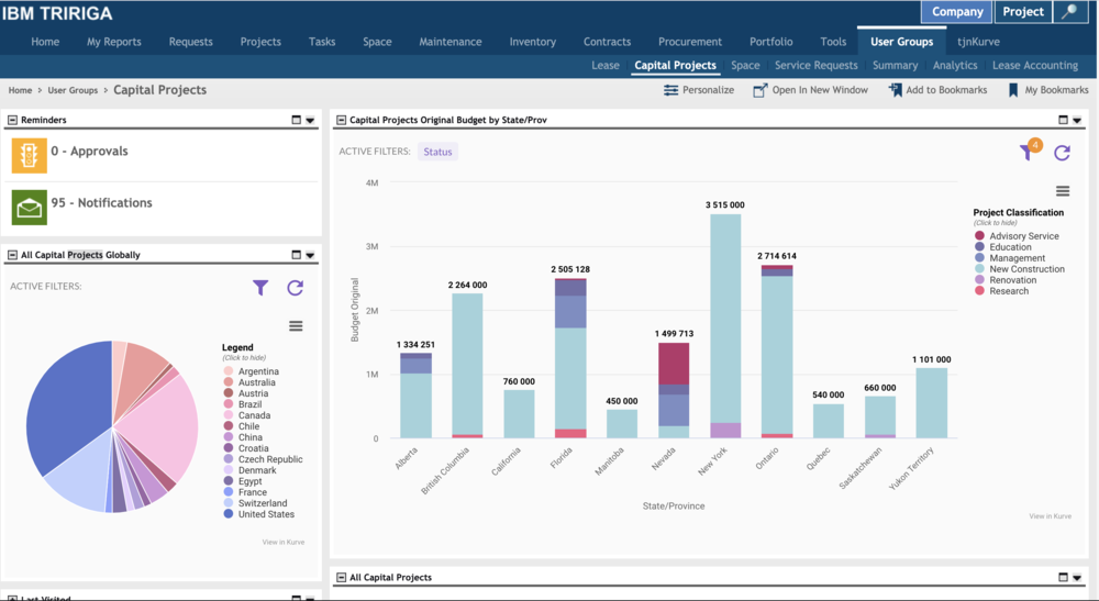 TRIRIGA Admins - Learn to embed Kurve creations in Forms and Reports