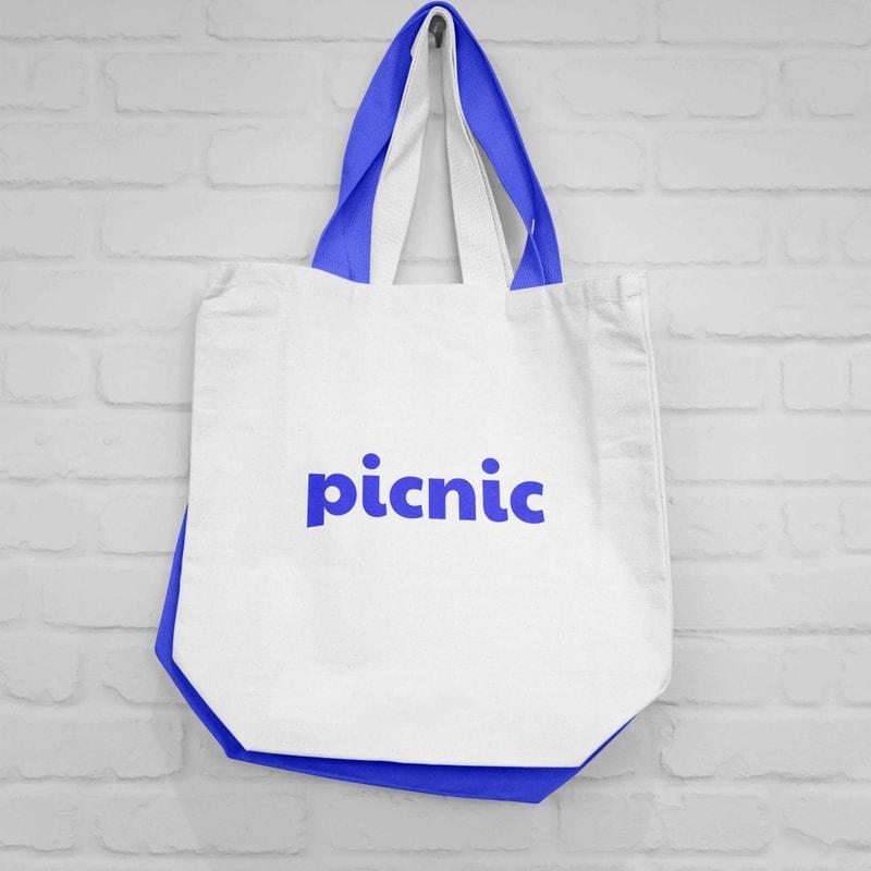 Picnic Gallery totebag design