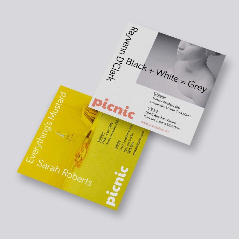 Picnic gallery flyer designs
